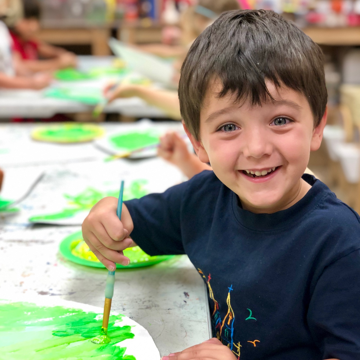 """<span style=""""font-size: 150%; color: #d410b4;""""><strong>ART Explorers</span></br>Ages 3-6</strong>"""